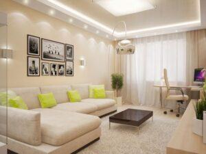Дизайн интерьера квартиры под ключ